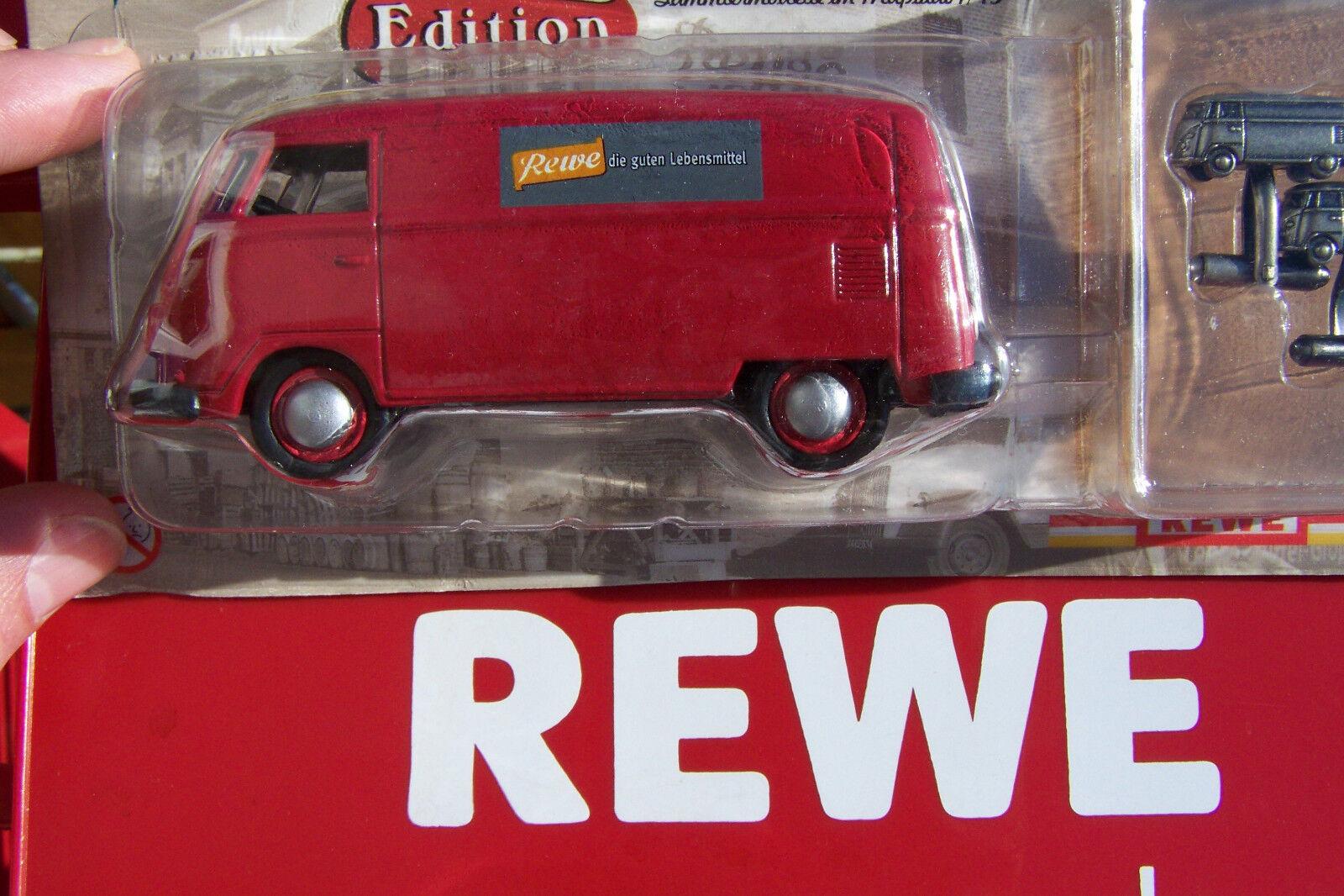 VW t1 1 43 - Rewe en transformación del tiempo-Edition-sin usar en OVP-rareza