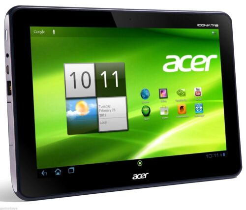 1 of 1 - Acer Iconia A200 - 16GB, Wi-Fi, 10.1in - Titanium Gray