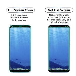 100% Tpu Clair Film Protecteur D'écran Plein écran Housse Pour Samsung Galaxy S9-afficher Le Titre D'origine Exquis (En) Finition