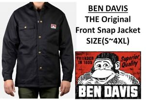 Ben-Davis-Mens-The-Original-Snap-Front-Jacket-4colors