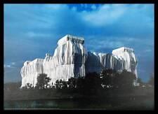 Christo Reichstag Ost & Nordfassaden handsigniert Poster Kunstdruck im Rahmen