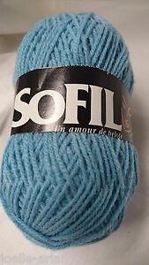 couleur dégradée Fabriquées en FRANCE 5 pelotes  de laine