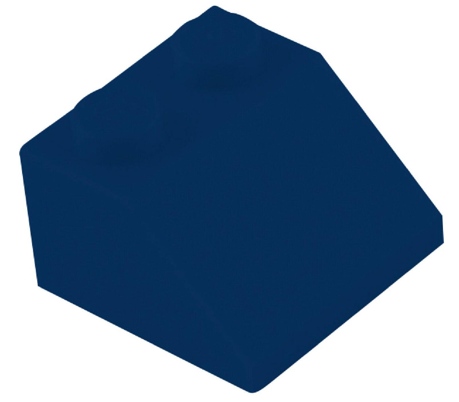 LEGO 10 Pièce Dachstein en Bleu 30 1 x2x 2//3 oblique Pierres Neuf 85984 Basics City