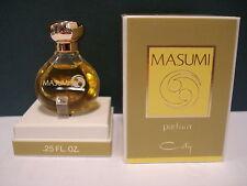 """coffret de parfum vintage  """" MASUMI """"  DE COTY EXTRAIT DE PARFUM 7.5 ML  blister"""
