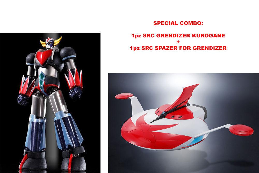 oroRAKE Grendizer SRC KUROGANE  + SPAZER Robot CHOGOKIN specialeee Combo Beai  marca