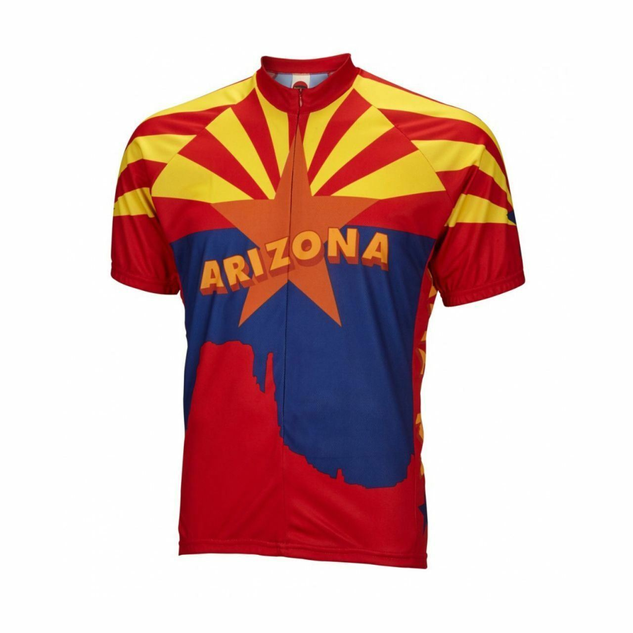 Arizona State Short sleeve 19  zip herren cycling jersey