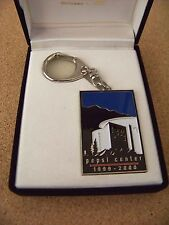 Denver Pepsi Center Inaugural Event 1999 key ring home of Avalanche Nuggets