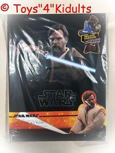 Hot Toys Mms 478 Star Wars Revenge Of The Sith Obi Wan Kenobi Ewan Deluxe New Ebay