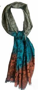 DamenSchal Tücher Schultertuch Winterschal Abendmode Floral Schal Wrap Lang Warm