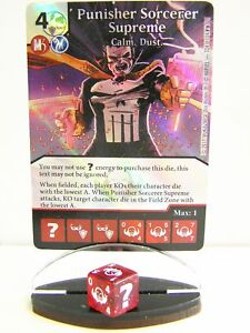Dice-Masters-1x-124-Punisher-Sorcerer-Supreme-Calm-Dust-Guardians-of-the