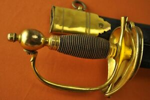 Napoleonic War Period 1796 P Heavy Cavalry Officer'c Dress Sword