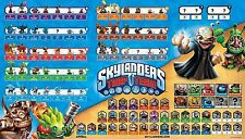 "Skylanders Trap Team Complete Figure Checklist Game Poster 25"" X 35"""
