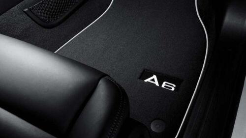 2x Original Audi Premium Velours Textil Fußmatten Matten VORN für Audi A6 4F C6