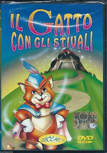 Il Gatto Con Gli Stivali 2003 Dvd Nuovo Sigillato Cartoni Animati