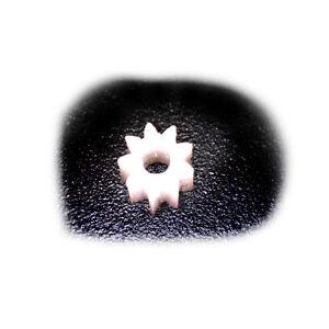 Ersatz Zahnrad für Lego Duplo Intelli Lok Modul 0,4 9 Zähne D4,8 L5 B1,95 POM-C