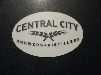 PORT CITY BREWING Monumental Optimal circle STICKER decal craft beer brewery