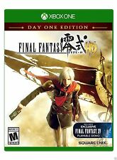 Final Fantasy Type-0 HD -- Day One Edition (Microsoft Xbox One, 2015) NEW