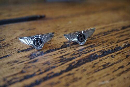 Bentley Cromo Gemelos De Gran Calidad Nueva Bolsa Gratis