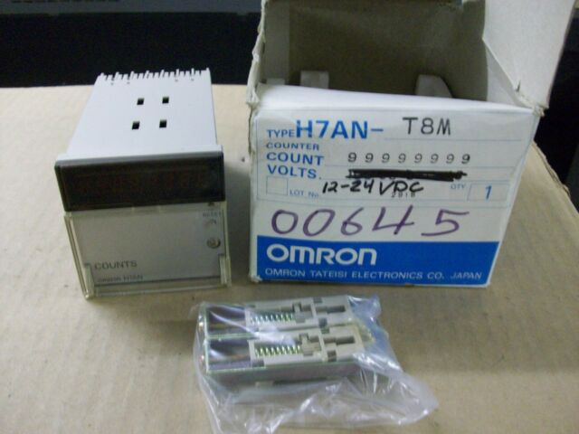 OMRON   H7AN-T8   RELAY COUNTER    12-24VDC