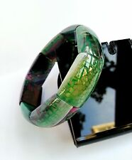 Bracelet Agate Feu Multicolore Lithothérapie Bijoux Pierre Minéral Naturel
