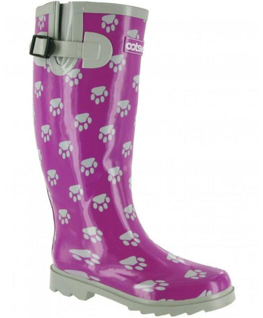 Cotswold Highgrove Ladies Womens Waterproof Long Wellington Boots Wellies