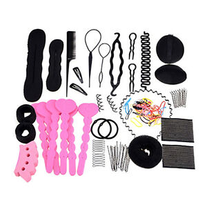 Exquisite-20Type-Hair-Styling-Clip-Hairpin-Hair-Comb-Band-Twist-Tool-Bun-Maker