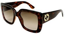 Women`s Gucci Sunglasses GG 3814/S LSDHA 53 20 140 Havana Frame Brown Gradient L