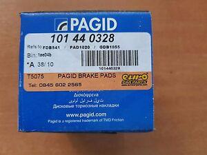 FRP3051H 1997-2005 Ferodo DS2500 Front Brake Pads Porsche 911 3.4 Carrera 996