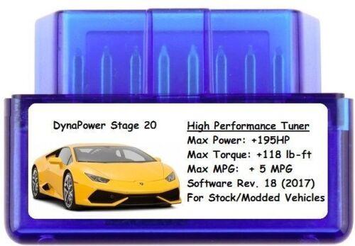 Add 195 HP//5 MPG Lexus Stage 20 Tuner Chip Power Performance
