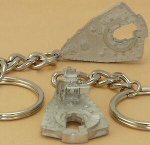 Details about Oilfield Trash Drill bit Rig Power Tong Keychain Jewelry  Roughneck oil sticker