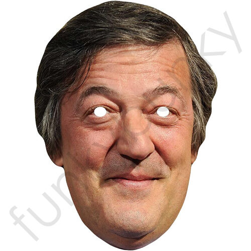 Stephen Fry From QI Celebrity Actor Card Mask All Our Masks Are Pre-Cut!