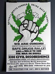 Bring-Back-Herb-Safe-Drugs-Rally-Pro-Pot-Weed-Anti-Drug-Vintage-Poster-1980