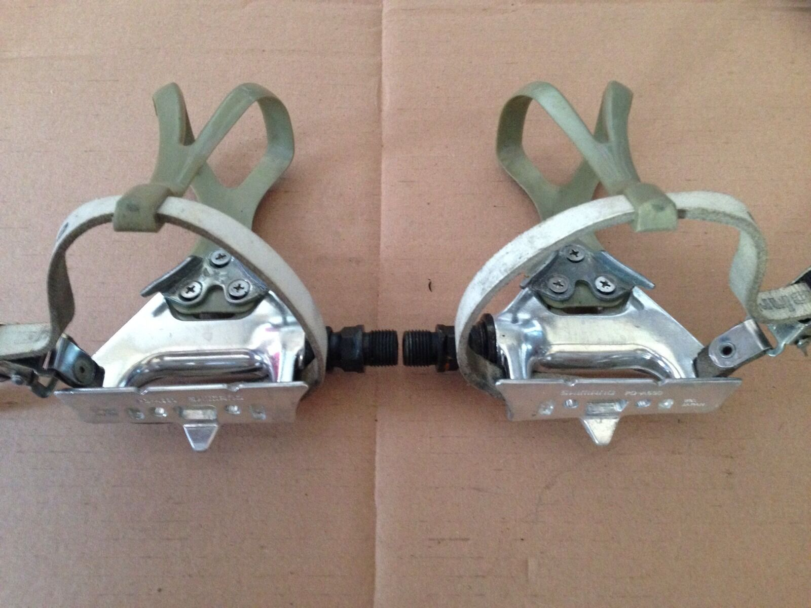 Pedals Shimano Ps-a550 Vintage Used