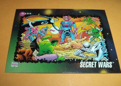 Secret Wars # 187-1992 Marvel Universe Series 3 Base Impel Trading Card