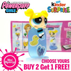 Powerpuff Girls Kinder Surprise Joy Figures Choose Yours Little