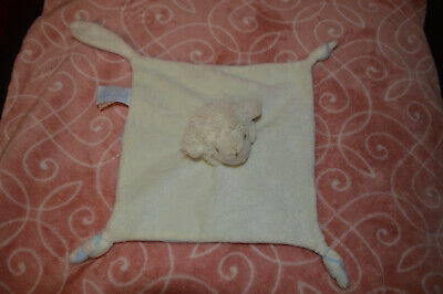 Semi plat Mouton Plat Doudou plat mouton blanc bleu AVENE PEDIATRIL