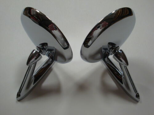 1965 1966 Ford Mustang Standard Mirrors-Left /& Right-NEW-Deal!