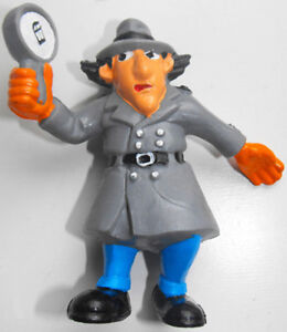 Inspector Gadget With Magnifying Glass Plastic Figurine Inspector