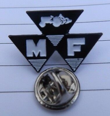Rare Pin Badge Massey Ferguson Tractor #1 Exquisite Workmanship In