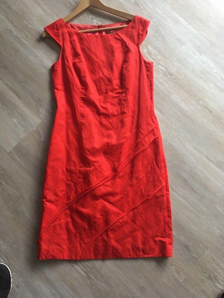 Elegantes Rotes Kleid Selection By S'Oliver Gr.38
