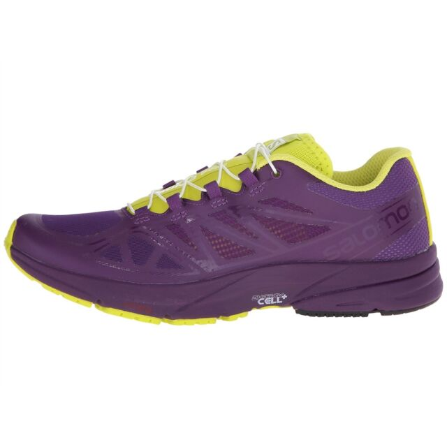 c3235745ec7d Salomon Sonic Pro Road Running Shoes for Women Size 8 Cosmic Purple ...