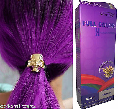Hair COLOR Permanent Hair Cream Dye VIOLET PURPLE 0.44 - no Sulphate / Armonia