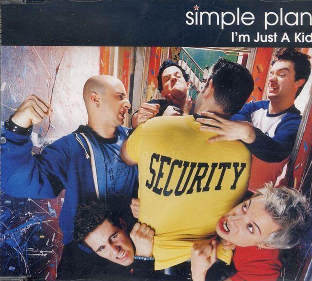 Simple Plan - I'm Just A Kid ° Maxi-Single-CD von 2002 ° WIE NEU °