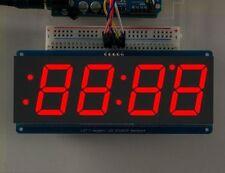 New Red 1.2' 4 Digit 7 Seven Segment LED Display IIC