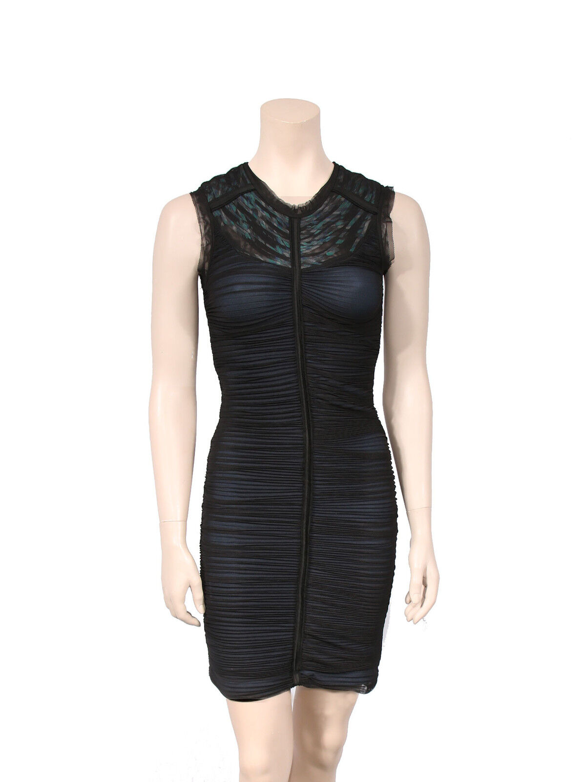 BCBG MAXAZRIA Ruched Dress SIZE XS