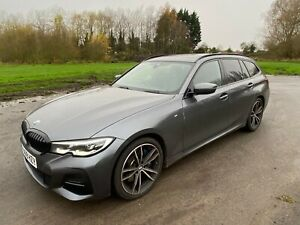 2019 BMW 330D XDRIVE M-SPORT PLUS ED AUTO TOURING NO DAMAGED BEEN FULLY REPAIRED