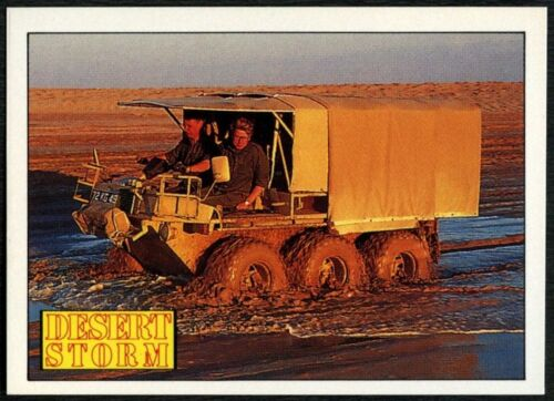 C959 Supacat #121 Desert Storm 1991 Merlin Sticker