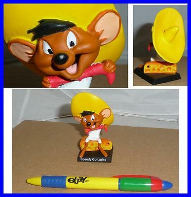 RARE METAL Figure SPEEDY GONZALES Looney Tunes ITALIAN Collection MINT NEW