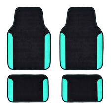 Car Pass Car Floor Mat Mint Green 4pcs Front Rear Universal Non Slip Fit Vehicle Fits 2012 Toyota Camry