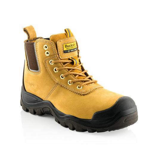 Buckler BAZ Safety Work Trainer Boots Black Non-Metalic S1 Men/'s Steel Toe Cap